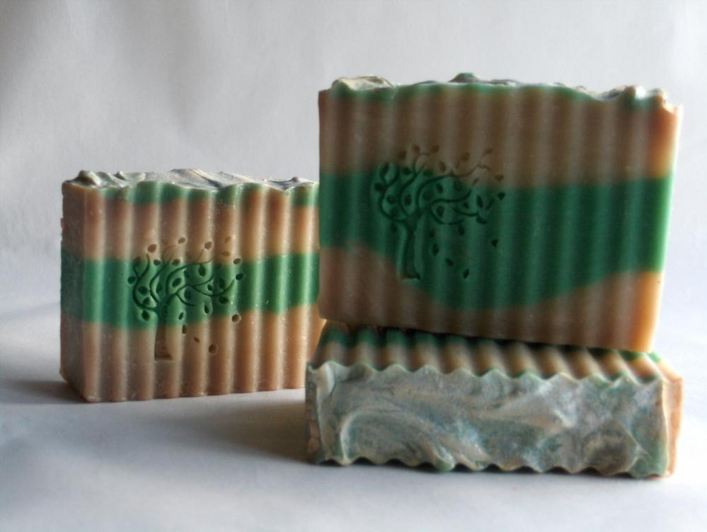 Made in Vermont Frosted Lime Cupcake Cold Process Soap